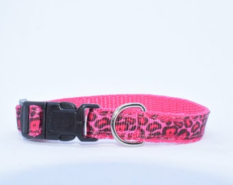 Collar , small, Chihuahua , Chiwawas ,pink , rosa ,