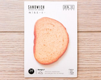 Cute sticky notes - sandwich - bread | Cute Stationery