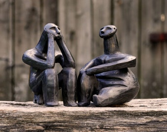 Thinkers of Hamangia, ancient couple