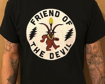 Grateful Dead Friend Of The Devil Shirt (Black)