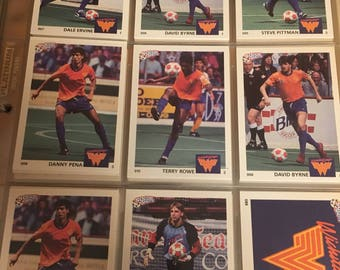 1991 Large Collector's Soccer Card Lot ; Card Lot