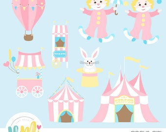 Circus Girl Clipart