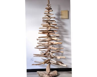 Christmas tree with Sea Woods-Driftwood Christmas tree-148 cm