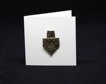 Dreidel hanukkah cards