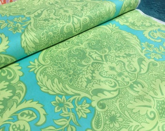 Amy Butler Sandalwood Turquoise Color ~ Love Collection by Amy Butler, Cotton Quilt Fabric