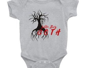 Infant Bodysuit - 'Little Boy Goth'