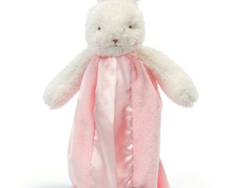 Personalized bunny   Baby blanket   Embroidered bunny   Baby shower gift   Super soft   Satin   Bunny   Puppy   Fox   Lamb   Baby Doll