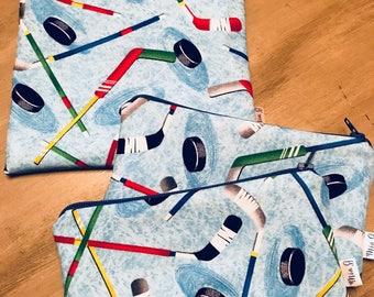 Hockey Reusable 3-Bag Bundle