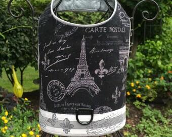 SAMPLE SALE:  Bonjour Paris Dog Harness