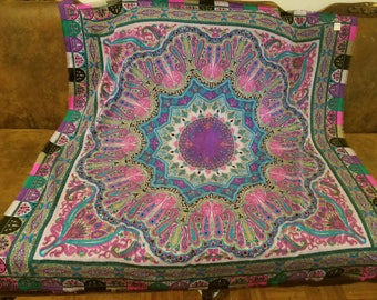 Vibrant Small Tapestry/Scarf