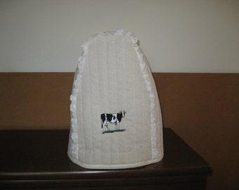 Kitchen Mixer Cover Cow Design