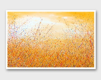 Large Abstract painting Abstract landscape large Landscape painting Modern paintings Abstract Yellow paintings Abstract art Acrylic art