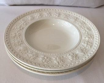 Vintage Wedgewood Wellesley Soup Bowls ~ Set of Three