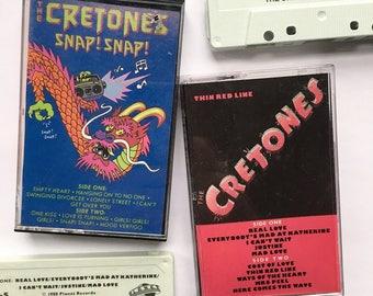"""The Cretones """"Discography"""" Tape Set (Cassettes x 2)"""