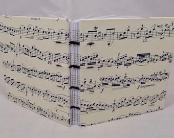 Pocket Hand-sewn Music Journal