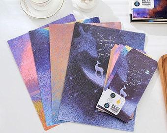 2 sets Sunshine Letter Paper & Envelope Set - Style A Kawaii Stationery Kawaii Paper Envelopes