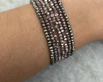 Beaded Wrap Bracelet
