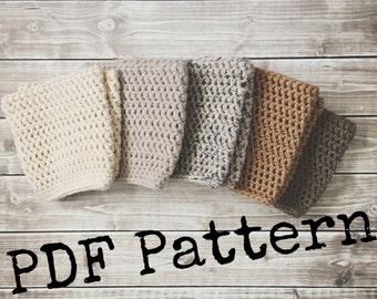 crochet boot cuff pattern. instant download. pdf pattern. boot topper tutorial. boot accessories. DIY leg warmers.