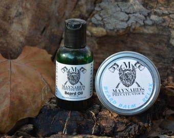 Beard Oil and Beard Balm Beard Kit - Relax (Lavender/cedarwood scented beard oil & beard balm) top selling items self care most popular item