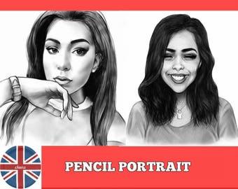 Custom Pencil Portraits