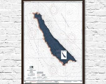 San Clemente Art, San Clemente Map, California Art, Coastal Print, Art, Beach Cottage Decor, Office Decor, California Map Art