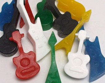 Rock Star Party, Rock Star Birthday, Guitar Party Favors, Guitar Soap, Rock and Roll, Music Favors - Set of 10