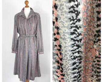 Gorgeous, vintage, long sleeve, day dressApprox UK size 16