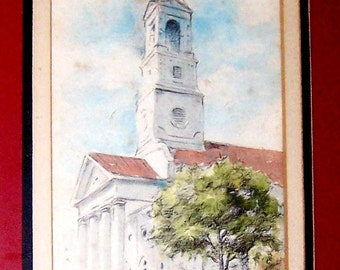 Frances Bennet Charleston SC Watercolor