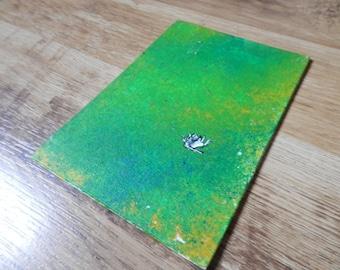 Descending - A6 Original Canvas Art