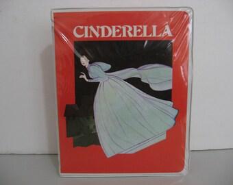 Rare!  Cinderella - Cassette and Story Book - Circa 1983  (Cassette)