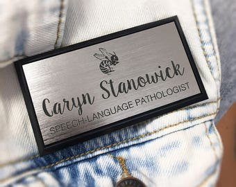 Laser Engraved Name Tags - Great for Professional Individuals