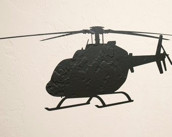 JetRanger Helicopter 2 - Wall Decal