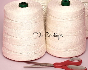 Natural Kraft White Unpolished 6-ply 100% Cotton Baker's Twine (Free Shipping!)