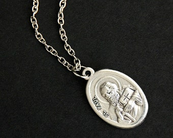 St peter jewelry etsy popular items for st peter jewelry aloadofball Images