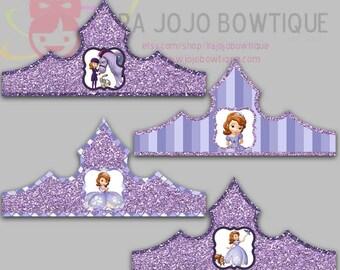 First Princess Paper Crown