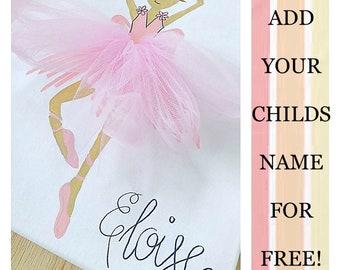 Ballerina Nursery-baby girls nursery-11x14-ballerina wall art-pink tutu-baby ballerina-bedroom sign-ballerina decor-girls room decor