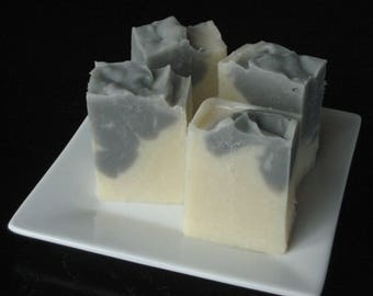 Solid Shampoo with Tea Tree Oil and Activated Charcoal