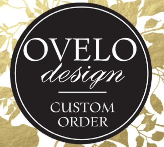 Custom Order for Cheryl Martin