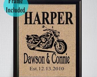Motorcycle wedding Etsy
