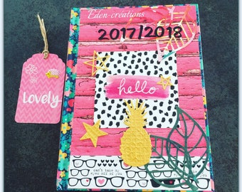customized Hello school calendar 2017/2018