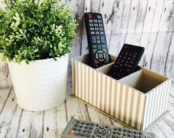 Remote Control Holder, Remote Control Organize, Remote Control Caddy, Home Decor, Organizer