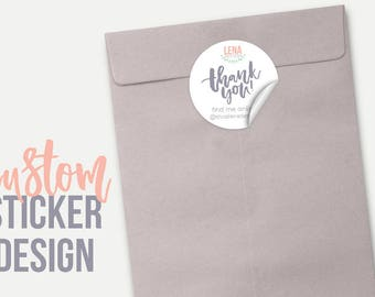 Custom Stickers - Custom Product Label - Business Stickers - Custom Logo Stickers - Custom Label Design - Printable Stickers  (DEPOSIT)