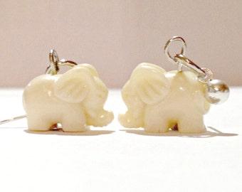 Elephant Earrings, Elephant Lover Gifts, Elephant Jewelry, Animal Earrings, Boho Earrings, Boho Elephant, Dainty Earrings, Boho Jewelry