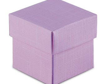 Lavender Lilac Favor Boxes (Pack of 20) Wedding Party Favors