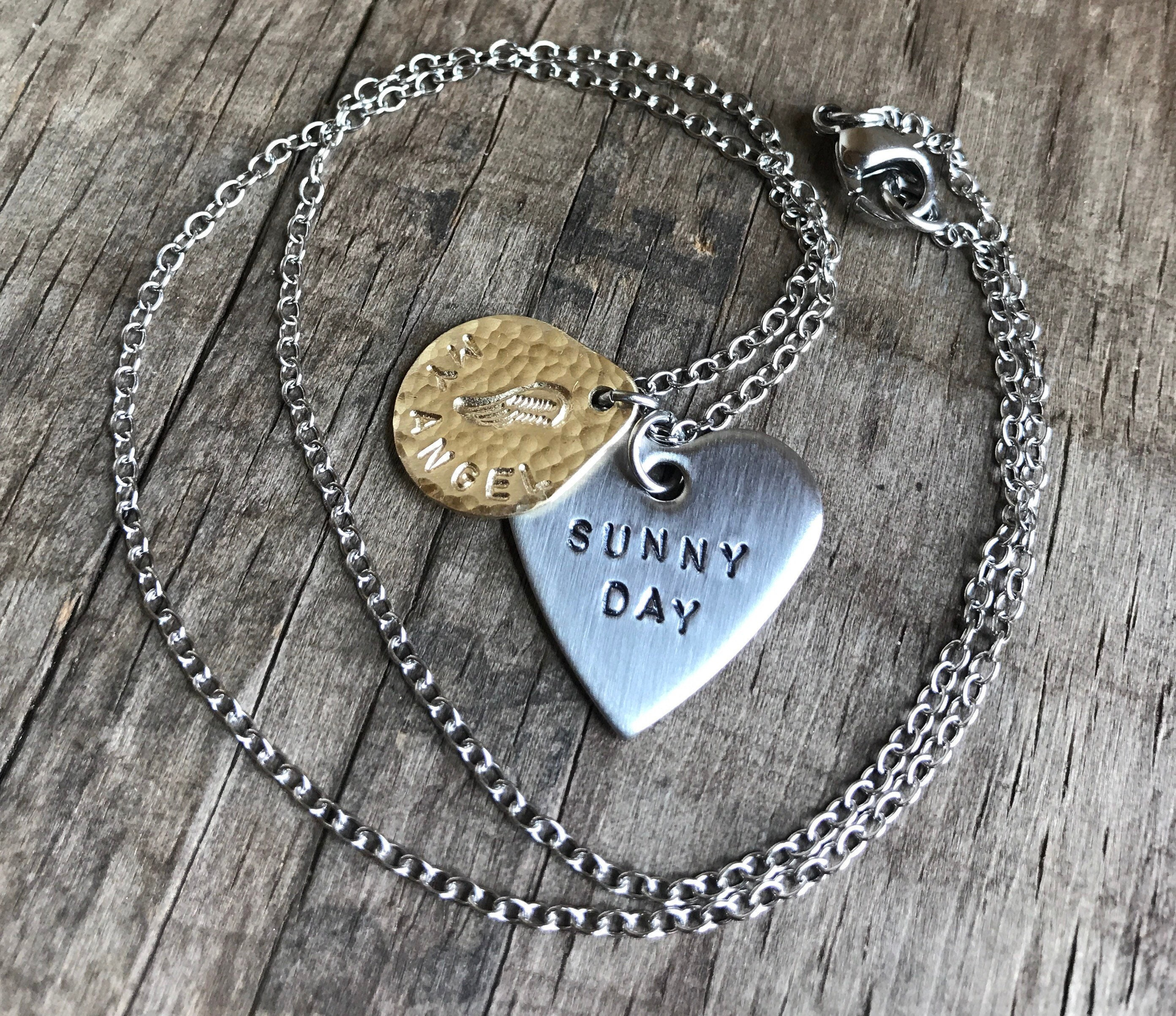 gift necklace teardrop memory or steel for products locket stainless floating sam personalized mom grandma