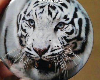 FIERCE Tiger Button
