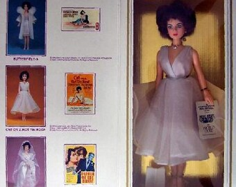 """ELIZABETH TAYLOR As """"Maggie In Cat On Hot Tin Roof"""" World Doll"""