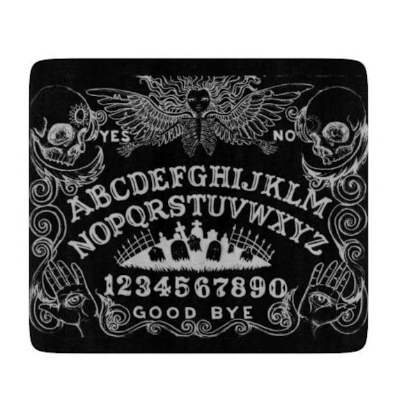 Ouija glass cutting board 11x8.25