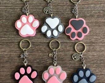 Dog Paw Key Chain