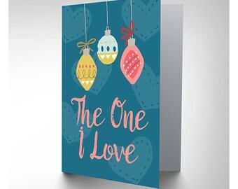 The One I Love / Christmas Card / Boyfriend / Girlfriend - CP3112